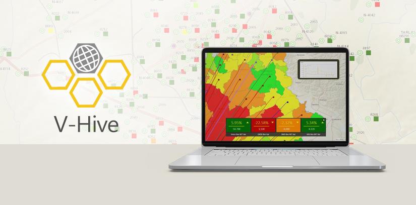 V-Hive: GIS-based performance monitoring solution