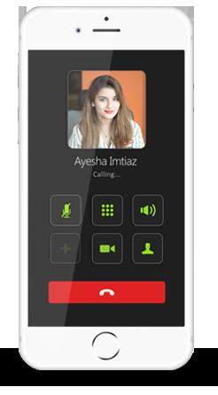 Smartlink App Calling Screen
