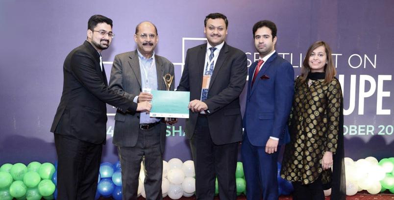 Nouman Hashmi receives award for Government & Public Services