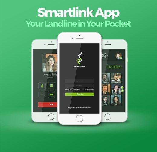 Smartlink App for Landlines