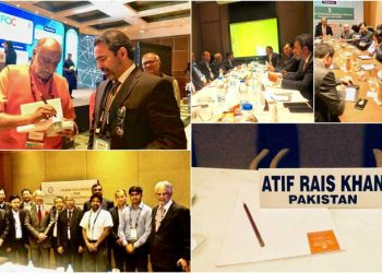 LMKT CEO Atif Rais Khan Represents Pakistan at INFOCOM 2017
