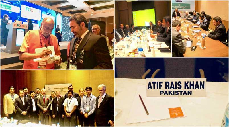 LMKT CEO Atif Rais Khan Represents Pakistan at INFOCOM 2017