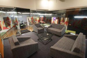 NIC Peshawar - Elevated Meeting Room