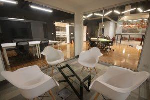 NIC Peshawar - Meeting Spaces in Incubation Hall